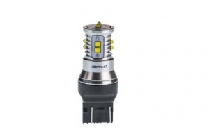 7443 Optima MINI, CAN, CREE XB-D*10, 5500K, 12V, (W3X16g), двухконтактная, 1 лампа
